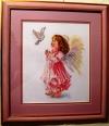 """Оформленная картина из вышивки """"Благослови"""", производитель """"Алиса"""", фото 4, багет, стекло, двойное паспарту"""