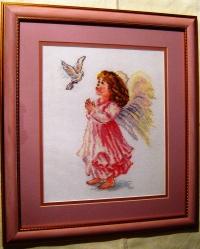 """Картина из вышивки """"Благослови"""", производитель """"Алиса"""", фото 3, стекло"""